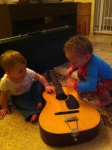 Oooh, guitar
