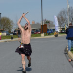 Sounding my barbaric yawp as I approach the finish