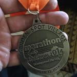 Garden Spot Village Marathon Medal