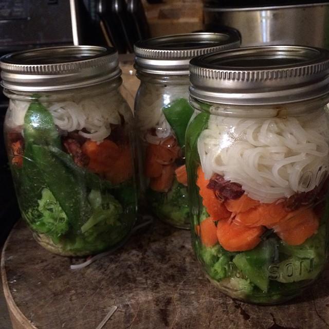Ginger Beef Noodle Jar