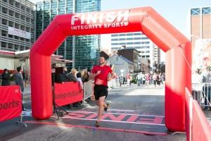 2015 Harrisburg Marathon Finish